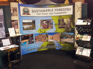 <b>Ottawa Valley Wood Booth</b>